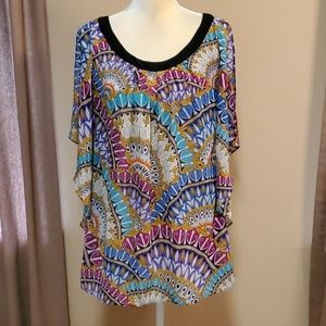 Nicole Miller blouse size Medium